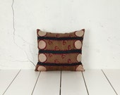 """handmade vintage suzani pillow cover - 16.34"""" x 18.50"""" - FREE shipment with UPS - 02690-81"""