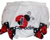 Boutique Ladybug Birthday Bloomers
