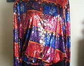 Colorful Abstract Blouse