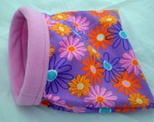 FREE SHIPPING - Cozy Critters Small Cuddle Bag - Fleece/Cotton for Guinea Pigs, Hedgehogs, Rats, and other Small Animals