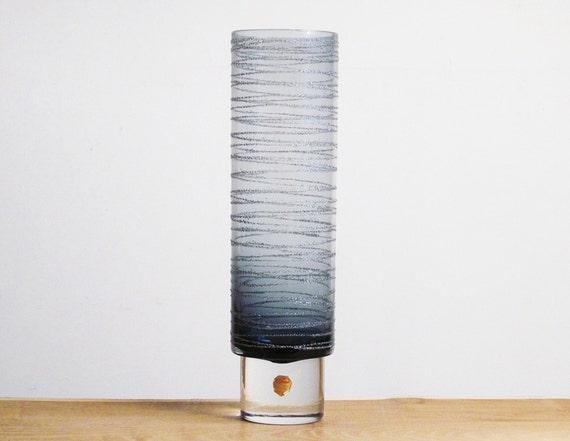 "Sea Glasbruk (Sweden) ""Particle"" vase by Rune Strand"