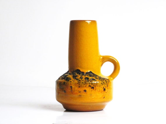 Handled West German vase by Kreutz Keramik (219)