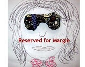 RESERVED for Margie - lavender and spelt eyepillows
