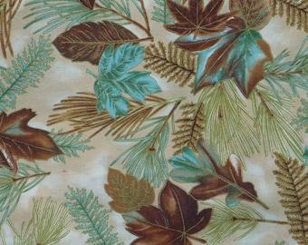 Autumn's Charm by Hoffman  5421 Fall Cotton Print Fabric
