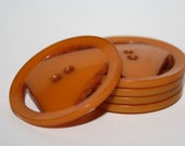 Butterscotch Triangle Bakelite Buttons