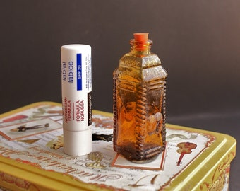 Small Glass Decorative Bottle