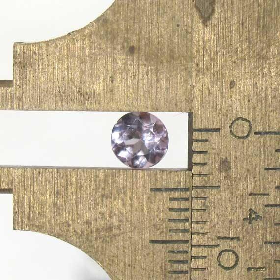 Amethyst Faceted Round - 5mm Natural Faceted Gemstone Birthstone: LSAmethyst5mmRound