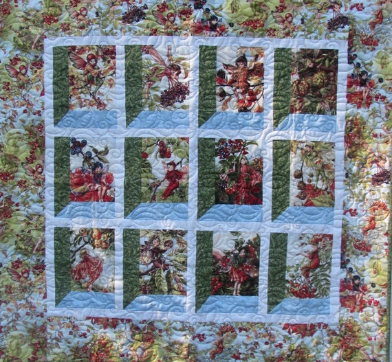 Wall Hanging - Autumn Fairies for Pat