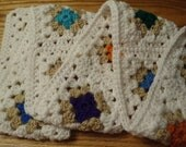 Beautiful Granny Square Neck Scarf
