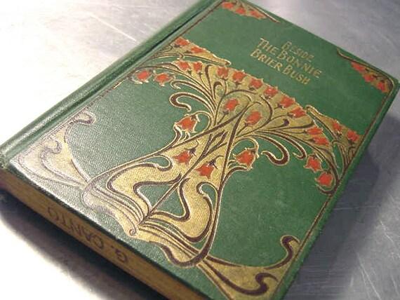 Antique Book Beside the Bonnie Briar Bush Short Stories Scotland 1900 MacLaren
