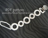 PDF PATTERN for pacifier clip. -Permission to sell finished items-    Copyright2012/lippybrand/Amy