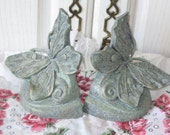 Dainty Pretty Butterfly Book Ends