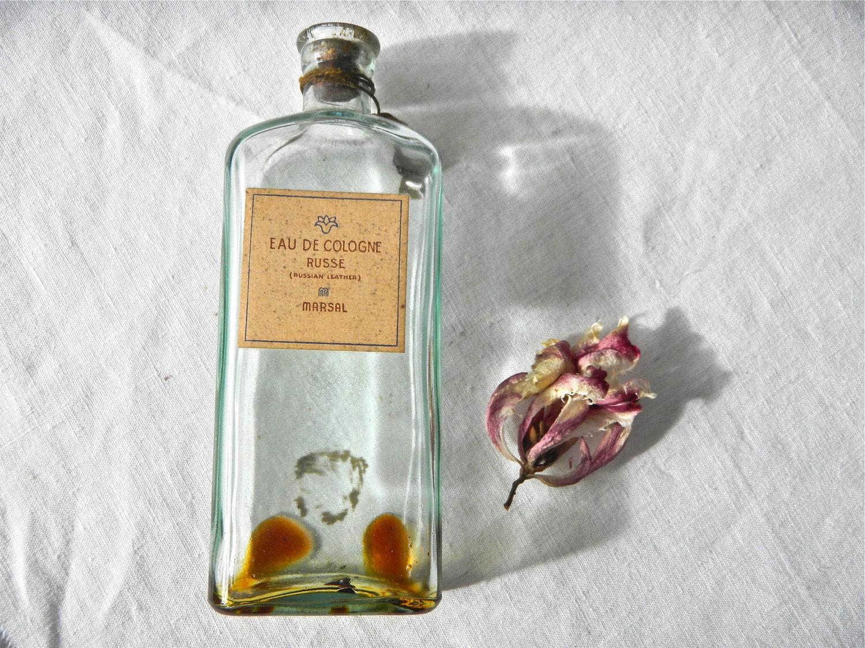 Vintage Mens Cologne Bottle 1930s Marsal Russe by sinbadssister -> Vintage Möbel Leihen Köln