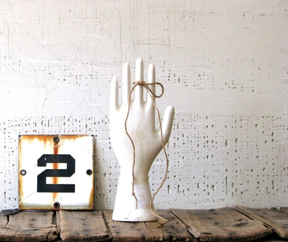 factory glove mold - modern farmhouse style decor or display