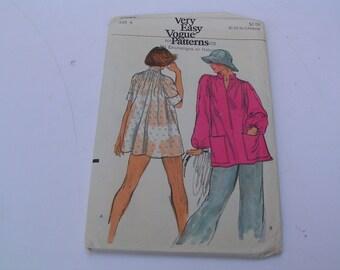 Vintage Vogue Pattern Very Easy 9223 Misses Top