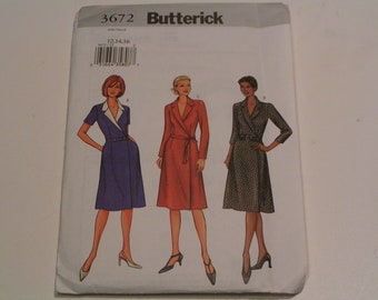 Butterick Pattern 3672 Miss Dress