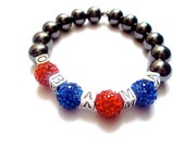 Obama bracelet, obama jewelry, barack obama, patriotic jewelry