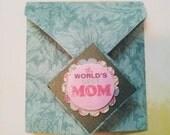 Diamond fold - Best Mom Card - Reserved
