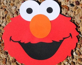 Elmo Party, Sesame Street Party, Elmo Invitations, Elmo