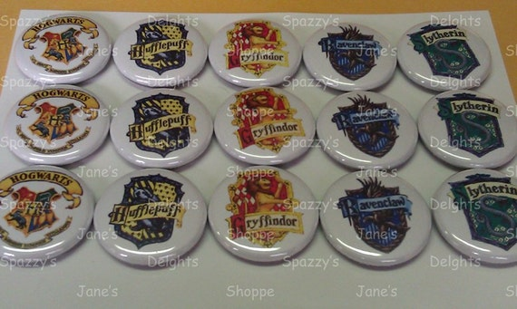 """RESERVED for BowPeep Boutique (Erin) Gryfinndor 1"""" Buttons."""