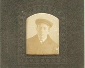Antique Photograph of Man In Hat