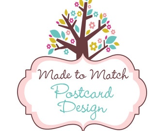 Made To Match - Postcard Design