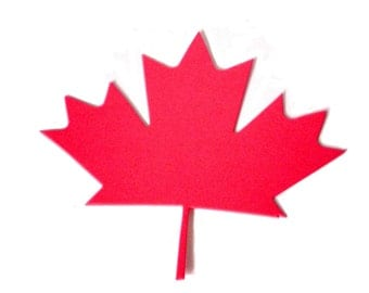 Canadian Maple Leaf Die Cuts