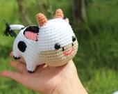 Baby Cow  Crochet Amigurumi