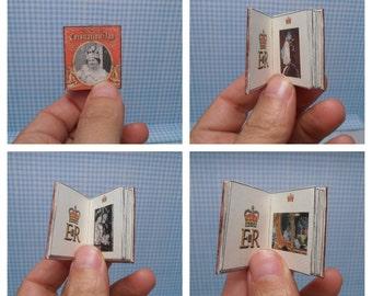 Gaël  Miniature   Album Queen Elizabeth cororantion