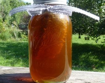 Raw Wildflower Honey, Tennessee Wildflower 43oz Jar Raw Pure Comb Honey, Honey Gift