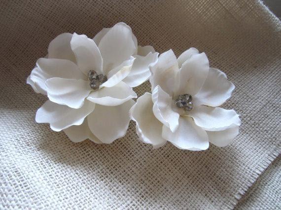 Bridal Wedding Flower Hair Accessory