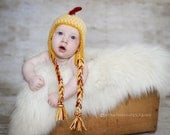 Rooster Hat- Made to Order- Any size