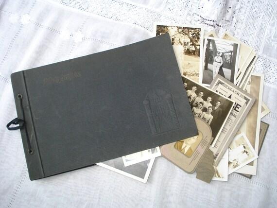 Vintage Photo Album and Photographs 1930s