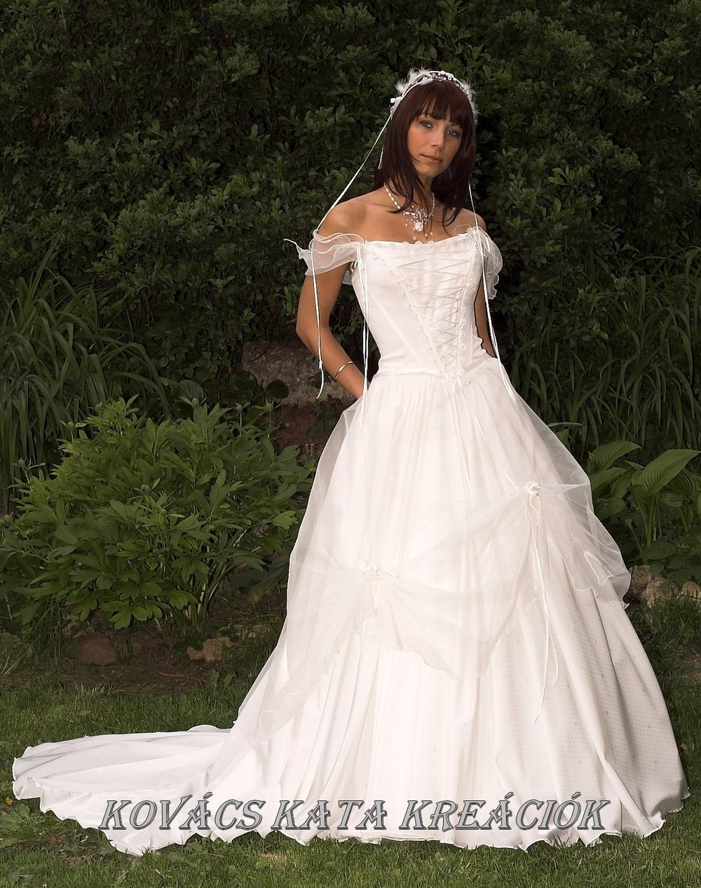 renaissance inspired ethereal white fairy wedding gown ForRenaissance Inspired Wedding Dress