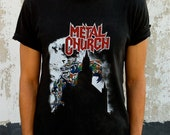 Vintage Metal Church- Start the fire tour tee
