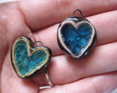 two heart pendants for KUMI