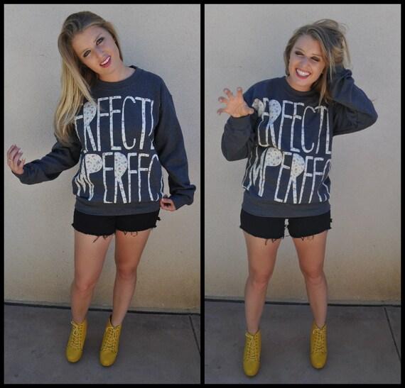 PERFECTLY IMPERFECT Statement Sweatshirt
