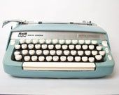 VIntage Smith and Corona Super Sterling Typewriter