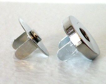 Magnetic Snaps 18mm 200 sets 4mm thick Wholesale Nickel Plated