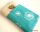 Iphone 5s, Iphone 6, Iphone 5 Sleeve IPhone Case POCKET  iPhone Cover iPod case Dandelion