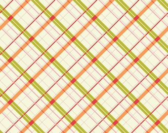 CLEARANCE - AVIGNON by Emily Taylor for Riley Blake - Plaid (Green) - 1 Yard - Quilting Weight Cotton Fabric