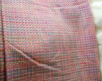 "Raw silk/suiting, light to medium weight,  2 1/2 yards at 45"" wide."