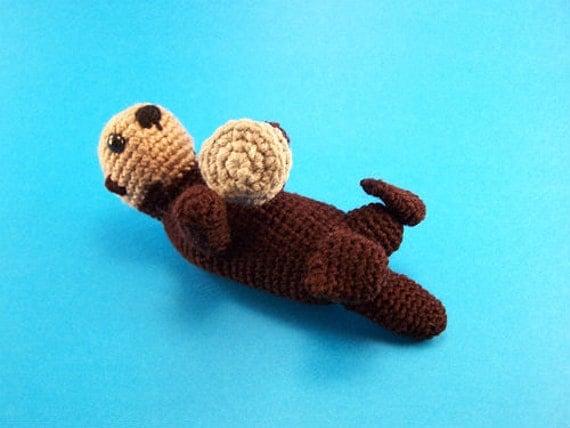 Ponyta Amigurumi Pattern : Sea Otter Crochet Amigurumi