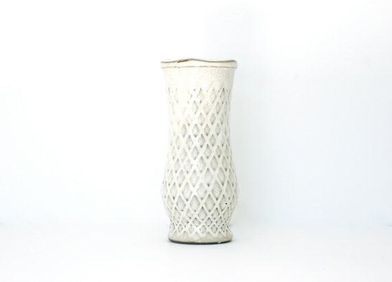 Vintage Ceramic Cream Vase