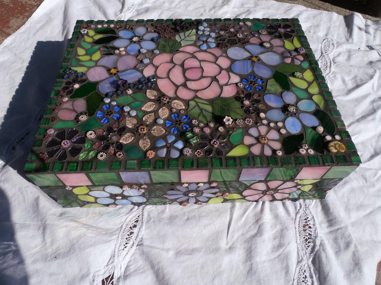 Mosaic Jewelry Box Jewelry Ideas