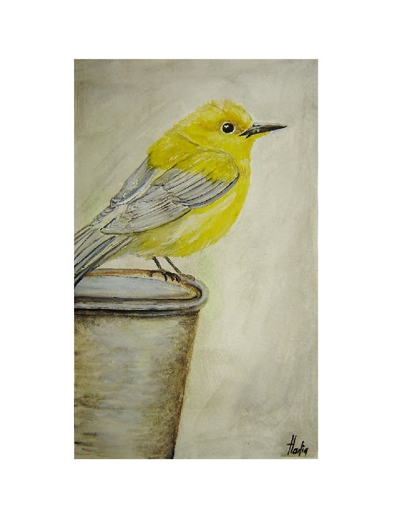 Original Painting Watercolor painting Bird Watercolor Painting Animal Art