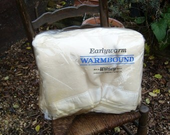 vintage charles early & marriott witney blanket pure merino Wool