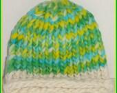 Knit Newborn Hat, Baby Hat, Baby Photo Prop