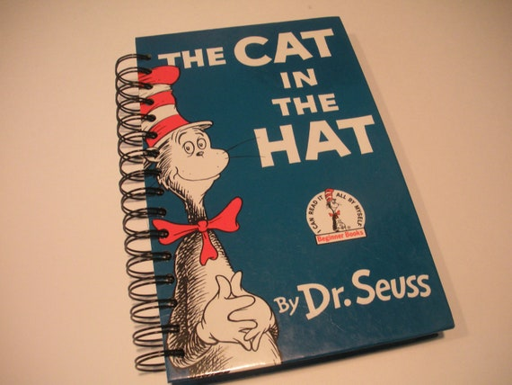 2013 Weekly Planner The Cat in the Hat Dr. Seuss Recycled Book