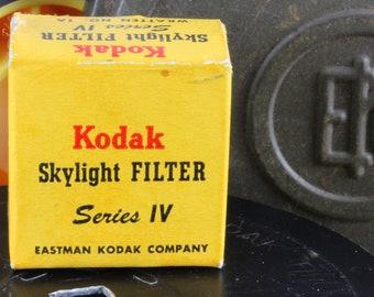 Kodak Skylight Filter Series IV Wratten No. 1A
